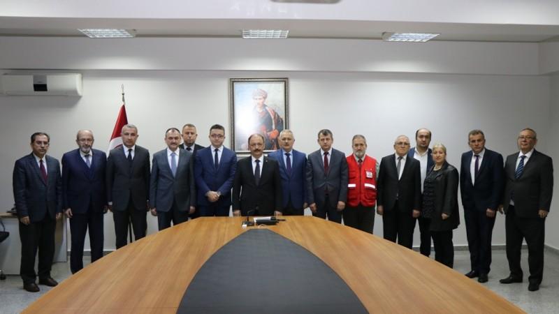 Vali Güner Başkanlığında Yılın Son Mütevelli Heyeti Toplantısı Yapıldı